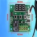 Alta Qualidade Novo-50-110 temperatura DC12V Calor Temperatura Fria Termostato Switch Controle De Temperatura