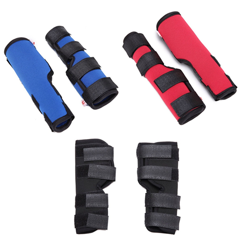 New Dog Leg Brace Pet Protector Dog Surgical Injury Fixed Knee Pads Dog Feet Cover Pet Training Protection Equipment 2pcs