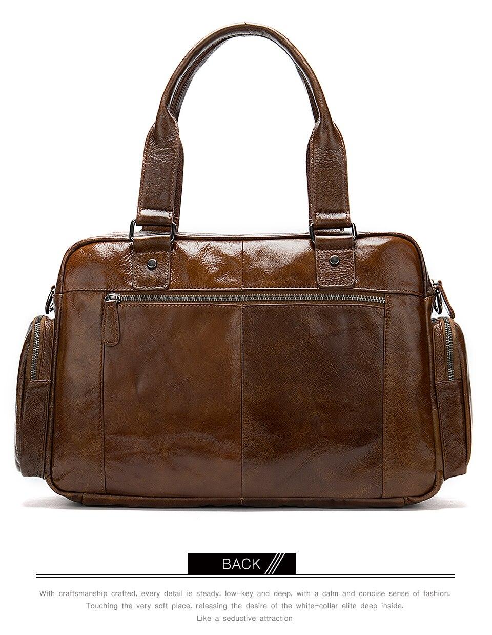 7 men\`s briefcase bag men\`s genuine leather bag mens briefcase messenger bags business laptop office bags for men handbag