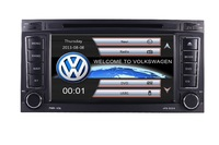 In Stock 2 din 7 inch Car DVD VW Touareg Multivan T5 (2002 2010) GPS 3G BT Radio RDS USB Steering wheel Canbus Free GPS MAP