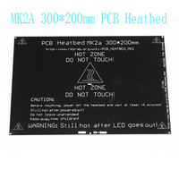 MK2A 300 200 3 0mm RepRap Ramps 1 4 PCB Aluminum Heatbed Heated Bed MK3 For