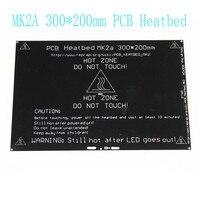 MK2A 300 200 3 0mm RepRap Ramps 1 4 PCB Aluminum Heatbed Heated Bed MK3 For