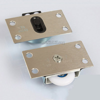 Stailess Steel Single Pulley Furniture Sliding Door Roller Set Perfect For Cabinet Cupboard CP50