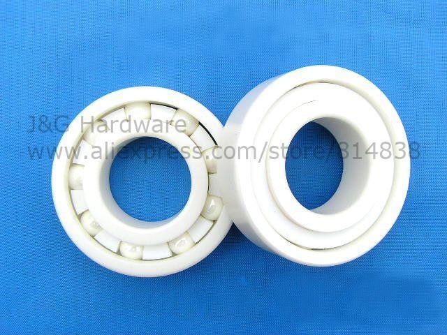 6206 Ceramic Bearing 30x62x16 Zirconia  ZrO2 nobrand 30 154 62 0