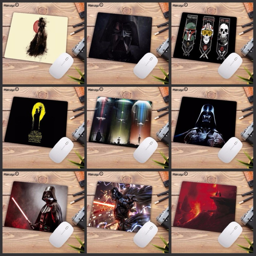 Mairuige 22X18CM Promotion Russia Darth Vader Star Wars Vintage High Speed Mousepad Gaming Mouse Pad Mouse Mat Keyboard Pad