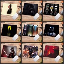 Mairuige 22X18 Cm Promosi Rusia Darth Vader Star Wars Vintage Kecepatan Tinggi Mousepad Gaming Mouse Pad Alas Mouse keyboard Pad(China)