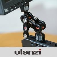 VLOGGER VIPER Video Monitor Stand Bracket Ballhead Magic Arm Mount Gimbal Accessory Camera Accessories for Sony Nikon Canon DSLR