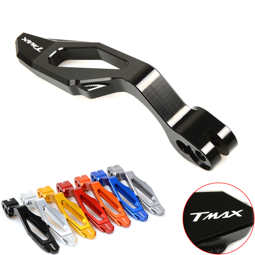 CNC Motorcycle Accessories Parking Brake Lever For YAMAHA TMAX 500 2008-2011 T-MAX 530 2012-2015 XP530 XP500 2009 2010 2013 2014