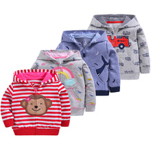 Cute Animal Spring Children Coat Autumn Kids Jacket Boys Outerwear Coats Active Boy Windbreaker Baby Clothes Clothing недорого