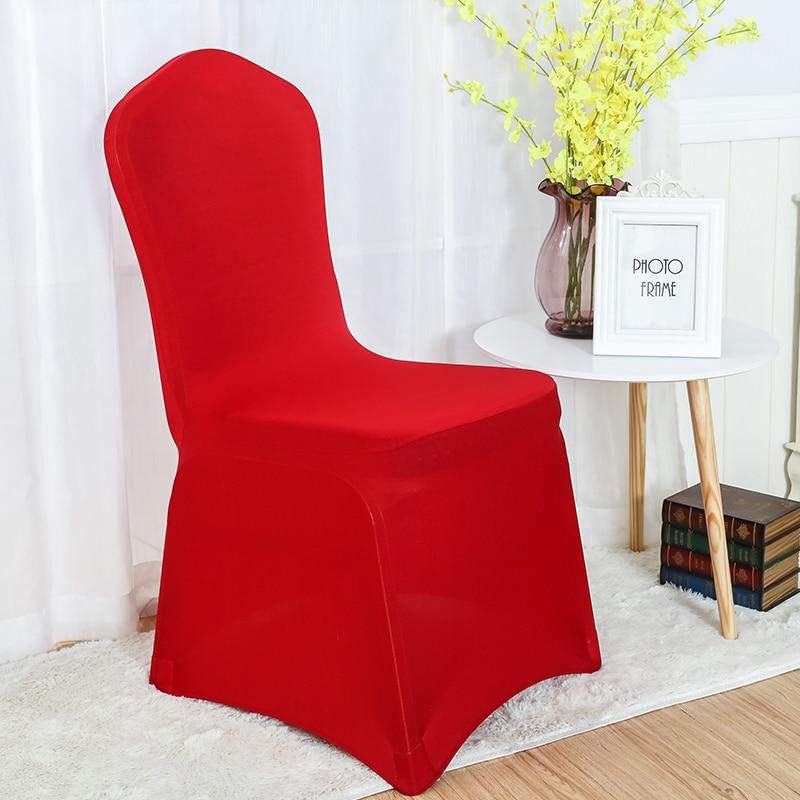 30 farver Spandex stolbetræk lycra dækning til stol spisestue - Hjem tekstil - Foto 5