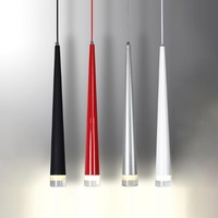 LukLoy Pendant Lights Modern Kitchen Lamp Dining Living Room Shop Pipe Pendant Lamps Aluminum Cylinder Tube