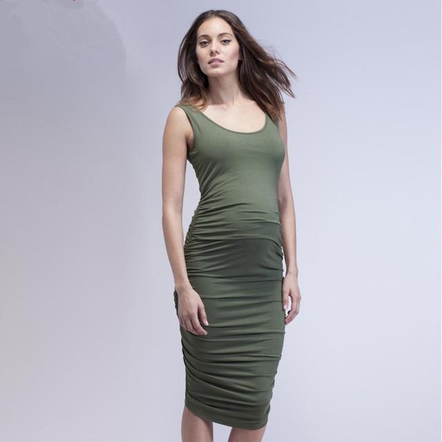 4cc4cb616 MAGGIE'S WALKER Maternity Clothes Dresses Sleeveless Elegant Evening  Dresses Pregnancy Clothes Pregnant Woman Summer Dress