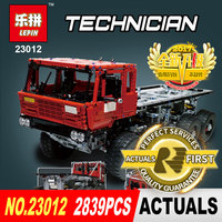 Лепин 2839 23012 шт. натуральная техника серии Аракава Moc эвакуатор Татра 813 развивающие строительные блоки кирпичи игрушки подарок