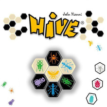 Hive Board Game 2 Players Funny Games High Quality Wood Material For Party/Family With Free Shipping