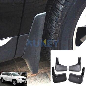 Set Car Mud Flaps For Toyota Highlander Kluger 2011 2012 2013 Mudflaps Splash Guards Mud Flap Mudguards Fender Front Rear sofa cama inflable