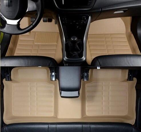 Best & Free shipping! Custom special floor mats for Toyota Highlander 5 seats 2018-2015 non-slip car carpets for Highlander 2017