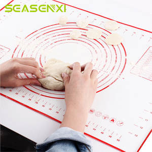 SEASENXI Silicone Baking Mats Dough Pastry Accessories