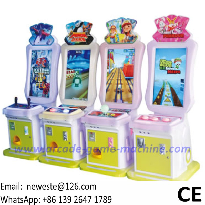 Parent Adults Children Kids Coin Operated Drive Car Racing Arcade Video Game Machine
