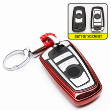 3 Buttons Smart Remote TPU Key Case Car Styling Cover For BMW 1 5 6 7 Series X3 X4 Set Protective