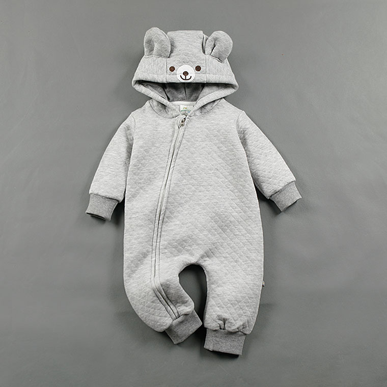 Cartoon Baby Rompers Boy Girls Jumpsuit Animal Style Hooded Clothes Autumn Spring Fleece Outfits Newborn Fashion Baby Clothing baby rompers 2016 spring autumn style overalls star printing cotton newborn baby boys girls clothes long sleeve hooded outfits
