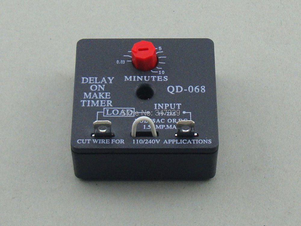 time delay relay qd 068 delay on make timer with 0 03~10minutes