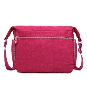 Image 2 - TEGAOTE Luxe Vrouwen Messenger Bag Nylon Schoudertas Dames Bolsa Feminina Waterdichte Reistas vrouwen Crossbody Bag