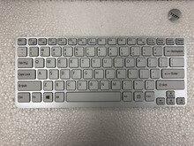 Yeni ABD beyaz SONY Vaio E14 SVE14 SVE141 SVE 14 SVE14111ELW serisi Arkadan Aydınlatmalı Laptop Klavye