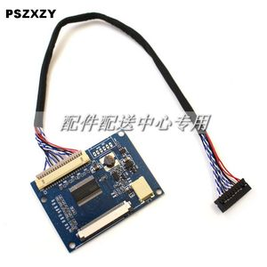 LVDS 1ch 8bit 20Pin to 50Pin TTL Signal LCD T-conboard Converter Board for 6.5- 9 inch 800x480 800x600 1024X600 LCD Panel