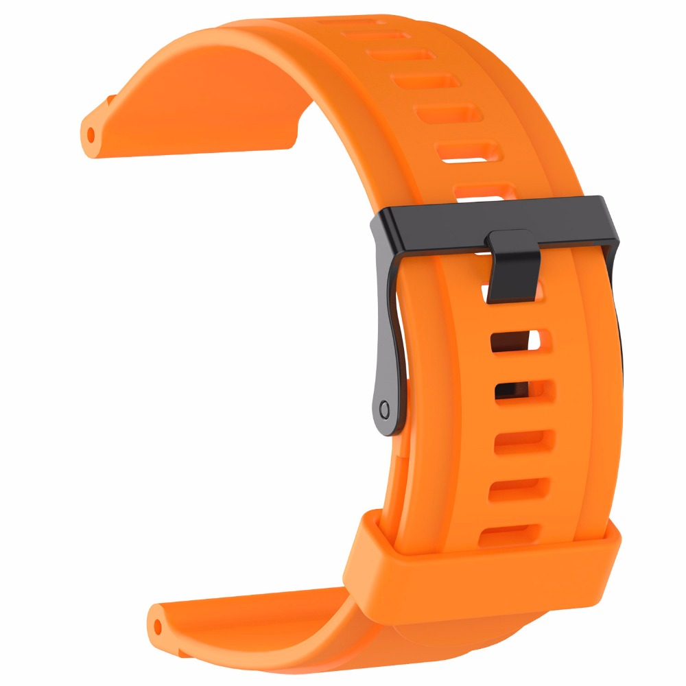 Image 3 - Watch strap for suunto Applicable to Suunto traverse watchband sports  traverse series watch silicone strap for gymnastics-in Smart Accessories from Consumer Electronics