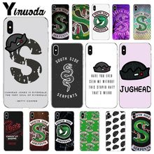 Yinuoda Riverdale South Side Serpents Customer High Quality Phone Case for iPhone 5 5Sx 6 7 7plus 8 8Plus X XS MAX XR