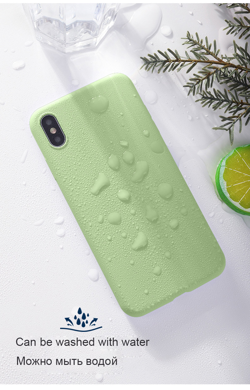 Luxury Skin-friendly Liquid Silicone Phone Back Cover Case For Huawei Honor Mobiles 11
