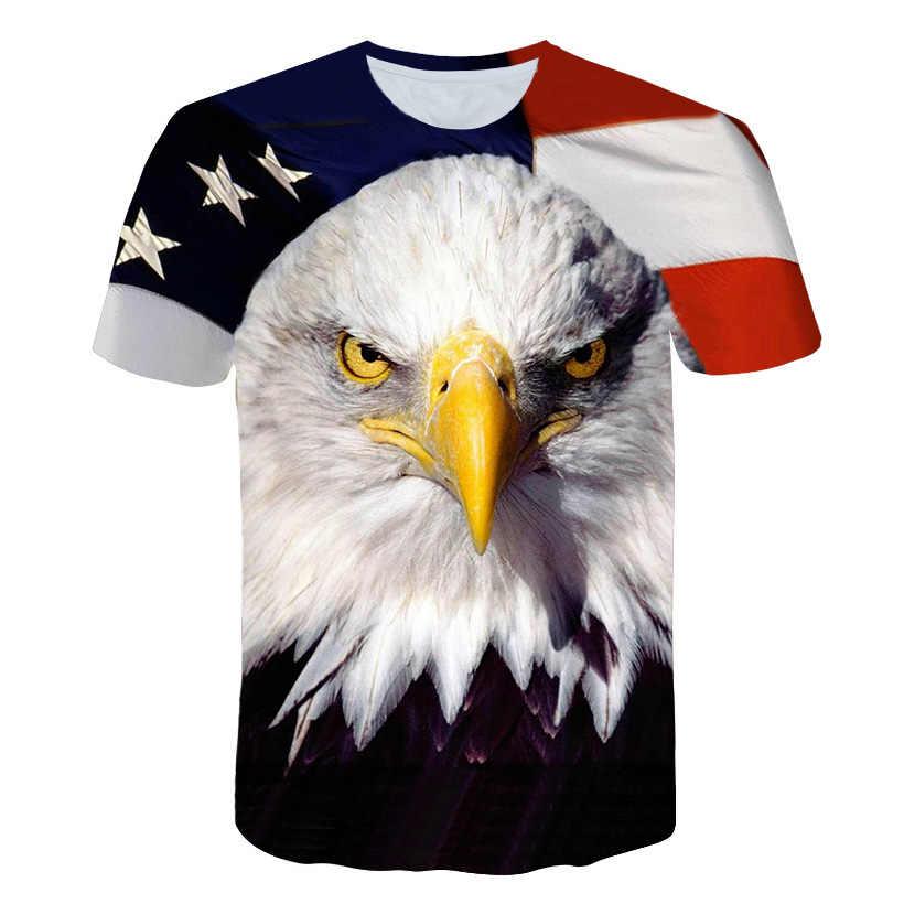 Новый флаг США футболка для мужчин/женщин Сексуальная 3d Футболка принт полосатый американский флаг мужская футболка летние топы футболки плюс 4XL 5XL