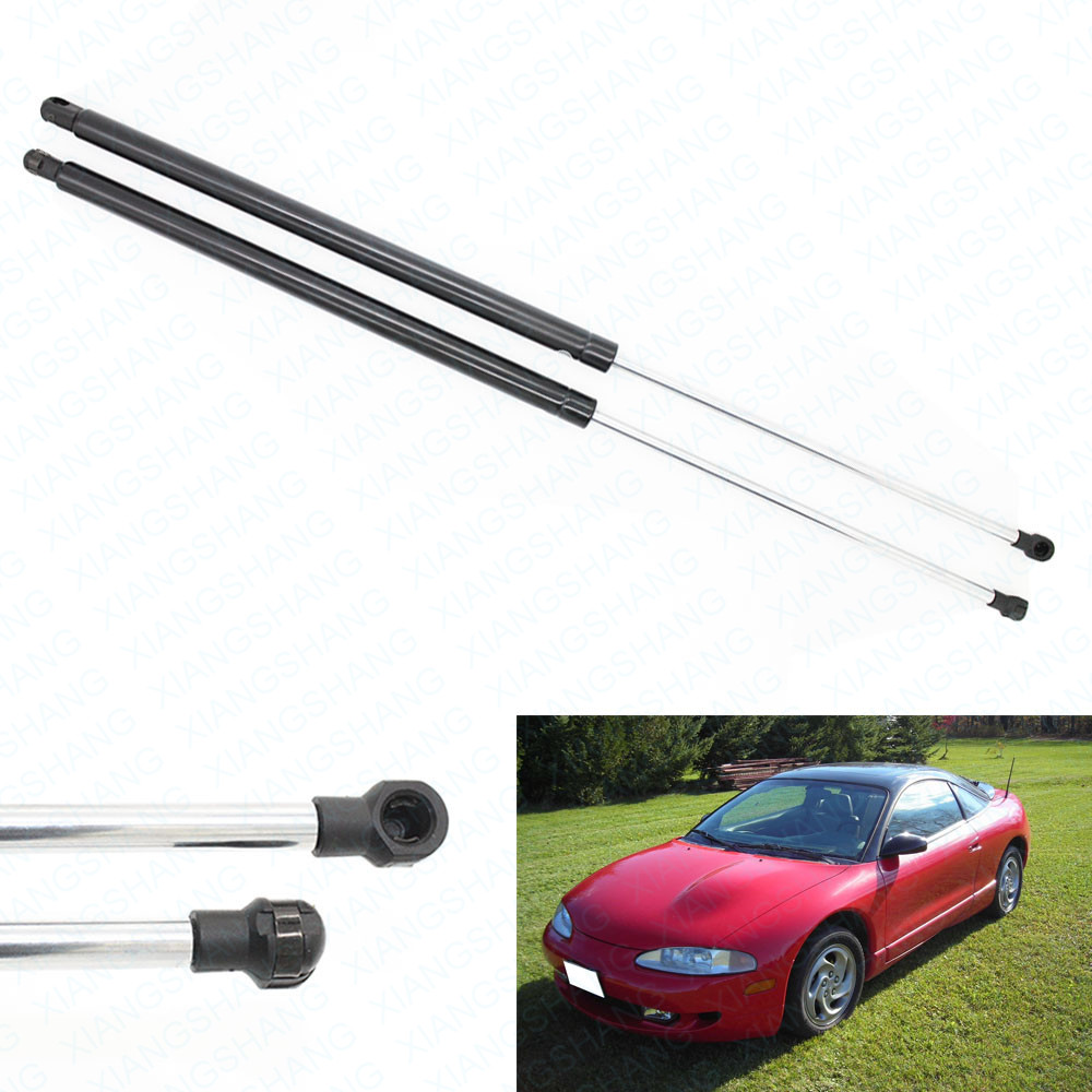 2pcs Hatch Liftgate Tailgate Liftgate Lift Supports Shocks Gas Struts for 1995-1998 Eagle Talon Hatchback 33.66 inch