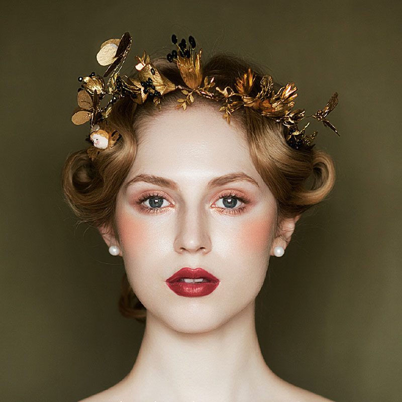 Hairstyles With Crown Queen: ®Royal Europe Tiara Butterfly Dragonfly ⑧ Crown Crown