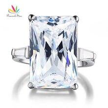 Peacock star 8.5 карат solid стерлингового серебра 925 свадьба обручальное кольцо роскошные ювелирные изделия cfr8117