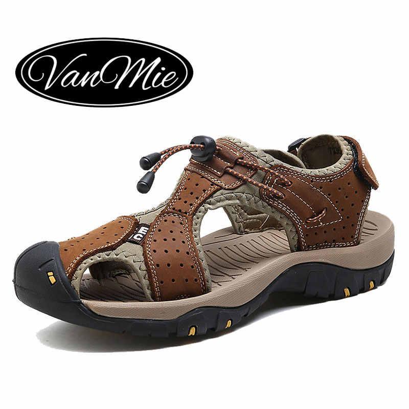 6a387e0f3 Vanmie/мужские сандалии, обувь 2019 года, летние сандалии для мужчин,  уличные спортивные