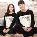 Winter lovers's Cashmere pyjama set Chinese brand   high quality Home Clothing Suits pyjama