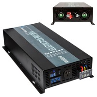 New Off Grid 4000w Pure Sine Wave Inverter Solar Power Generator For Solar System LED Display