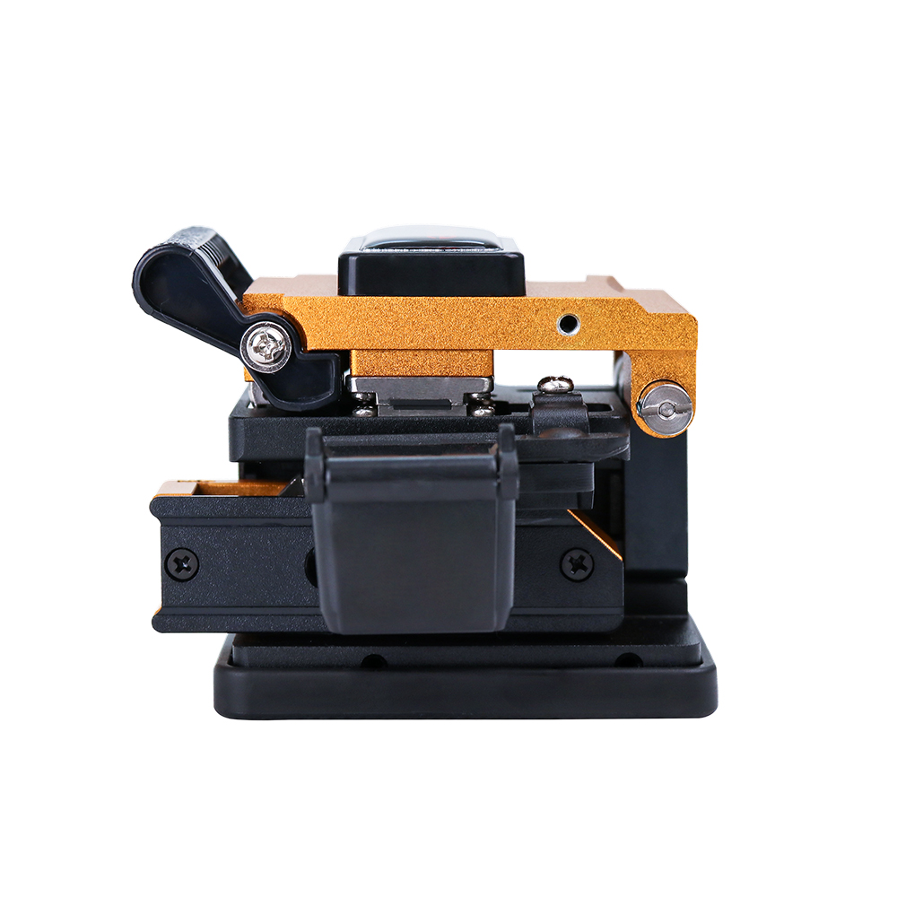 KOMSHINE KF-52 Optical Fiber Cleaver with 24 position blade ideal cutter for optical fibers Clivador de Precisao KOMSHINE KF-52 Optical Fiber Cleaver with 24 position blade ideal cutter for optical fibers Clivador de Precisao