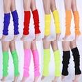 SMT206Hot Women Solid Color Knit Winter Leg Warmers Knee High Legging Boot  22LP