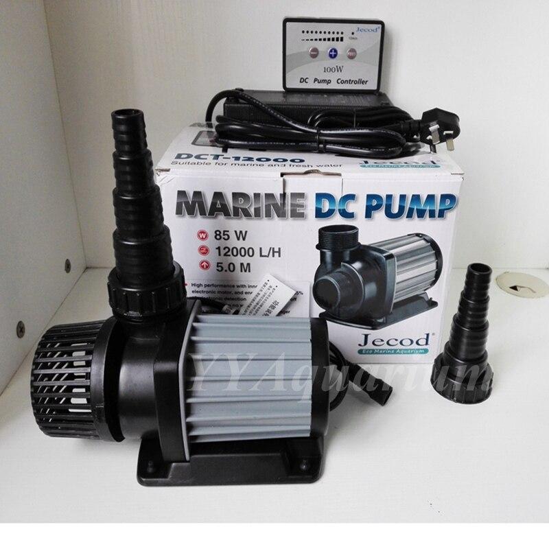 Pompe à eau SUBMERSIBLE MARINE JEBAO JECOD pompe à turbine cc avec contrôleur intelligent pour aquarium de récif NANO 10 vitesse 110-240 V