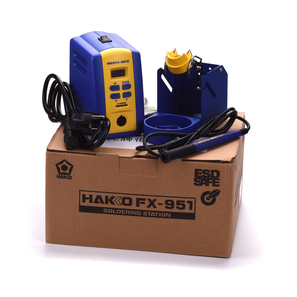 75W 220V Hakko FX951/FX-951 soldering station with sleeping function,FM2028,FX9501 soldering Iron, T12,T15 soldering iron tips dhl free shipping hot sale 220v hakko fx 888 fx888 888 solder soldering iron station with 10 free tips 900m t
