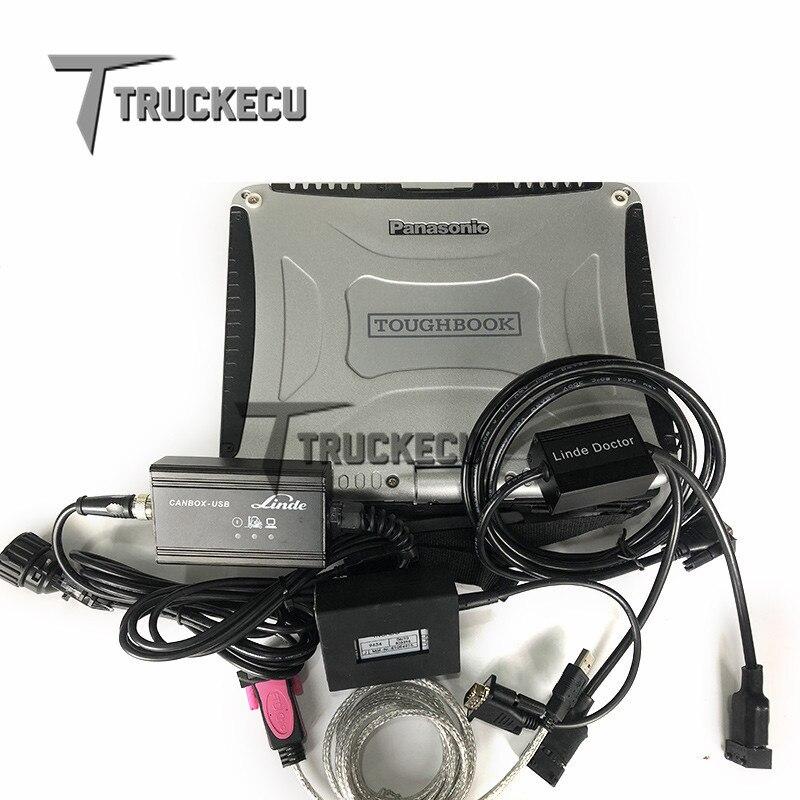 Cf19 Laptop+judit 4 Jungheinrich Judit Box Incado With Linde Canbox Doctor 2 In 1 Forklift Truck Diagnostic Kit Scanner Car Diagnostic Cables & Connectors Car Repair Tools