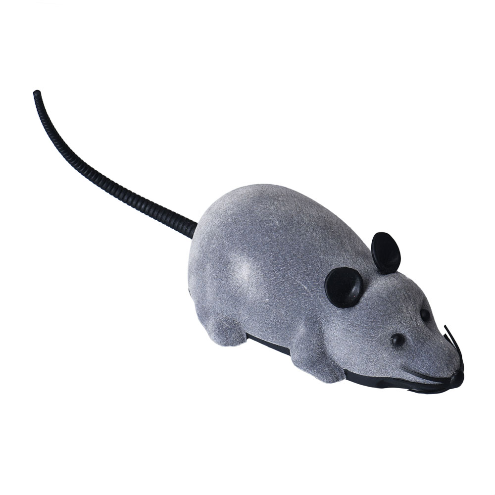 New Scary R/C Simulation Plush Mouse Mice With Remote Controller Kids Toy Z720 ...