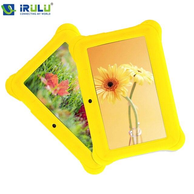IRULU BABYPAD Y1 7 ''Дети Tablet Google GMS Тест Android 4.4 Quad Core 8 ГБ Двойная Камера WIFI для Образования Детей Роста Учиться Mipad