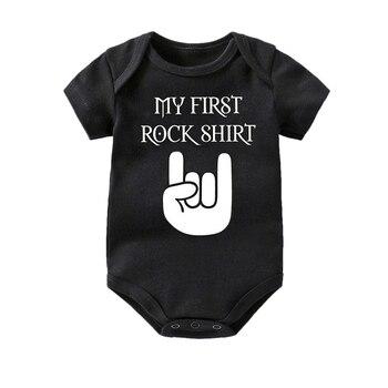 Culbutomind Bodysuit Do Bebê Do algodão Bonito Do Bebê do bebê de Manga curta menino Roupas macacão Infantil Roupa Do Bebê Corpo Rocha 0-12 meses