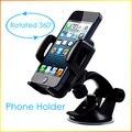 Parabrisas Universal de 360 Grados de Rotación Del Teléfono Móvil GPS Soporte para Coche Soporte soporte para iphone 5 6 para samsung galaxy s6 s5 s4