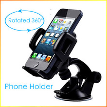 Universal Windshield 360 Degree Rotating  Mobile Phone GPS Car Holder Mount Holder for iPhone 5 6 for SAMSUNG Galaxy s6 S5 S4