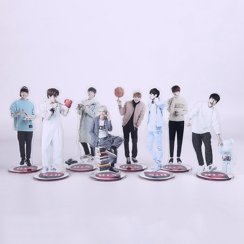 Jewelry & Accessories Confident Kpop Got7 Acrylic Standee Figure Doll Jackson Mark Youngjae New Fashion Standing Action Table Desktop Decor