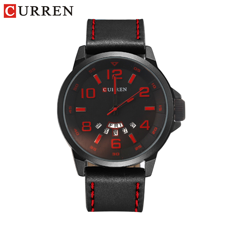 Curren 8240 luxury brand quartz watch Casual Fashion Leather watches reloj masculino men watch  Sports Watches в донецк швеллер гост 8240 97